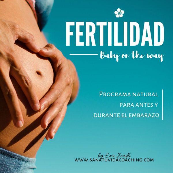 Fertilidad Baby on the way Sana tu vida coaching eva jorda